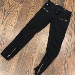 AG black jeans - size 25. Harlow